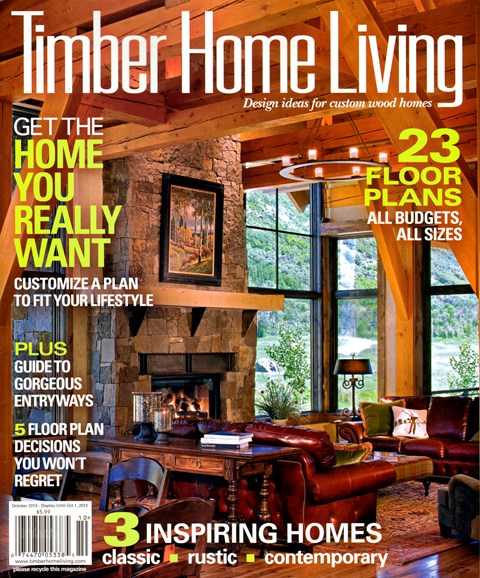 Timber Home Living Cover - 10/1/2013