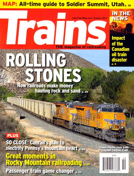 Trains Cover - 10/1/2013