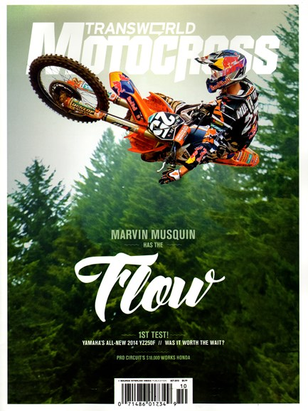 Transworld Motocross Cover - 10/1/2013