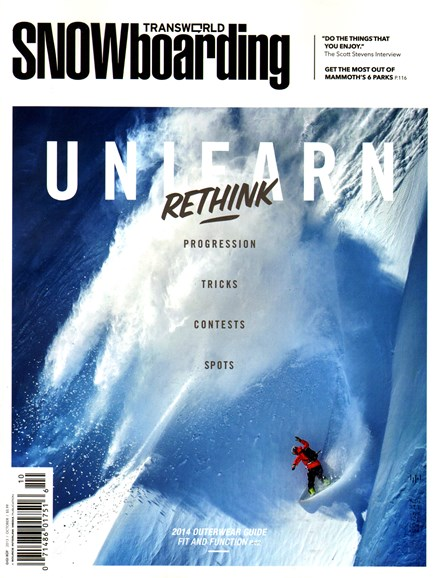 Transworld SNOWboarding Cover - 10/1/2013