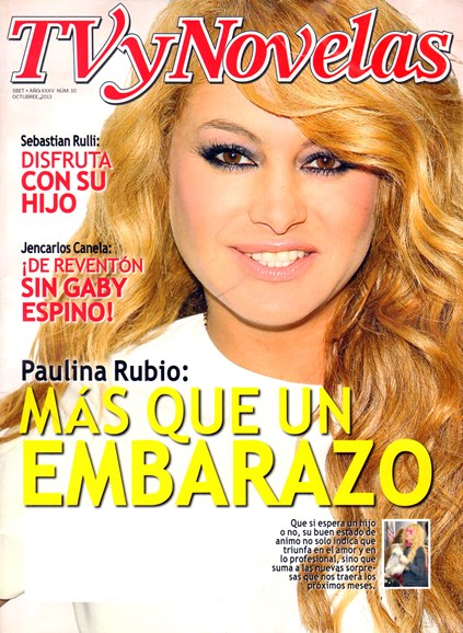 Tv Y Novelas Cover - 10/1/2013