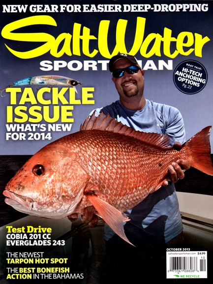 Salt Water Sportsman Cover - 10/1/2013