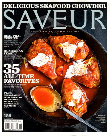 Saveur Cover - 10/1/2013