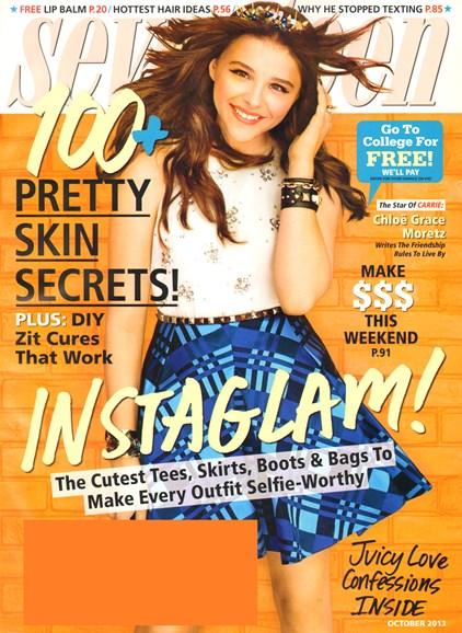 Seventeen Cover - 10/1/2013