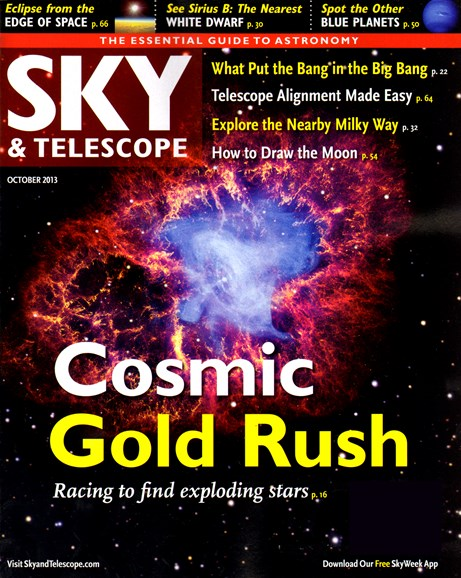 Sky & Telescope Cover - 10/1/2013