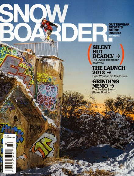 Snowboarder Cover - 10/1/2013