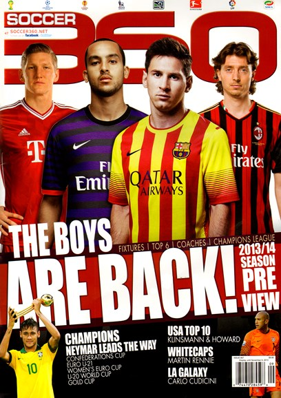 Soccer 360 Cover - 10/1/2013