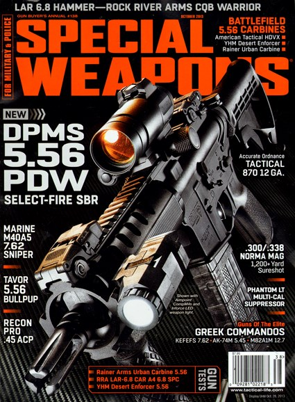 Special Weapons for Military & Police Cover - 10/1/2013
