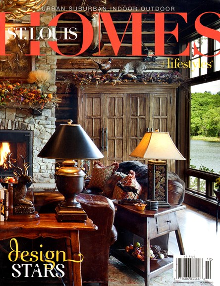 St. Louis Homes & Lifestyles Cover - 10/1/2013