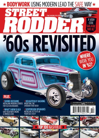 Street Rodder Cover - 10/1/2013