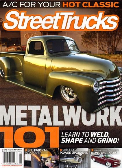 Street Trucks Cover - 10/1/2013