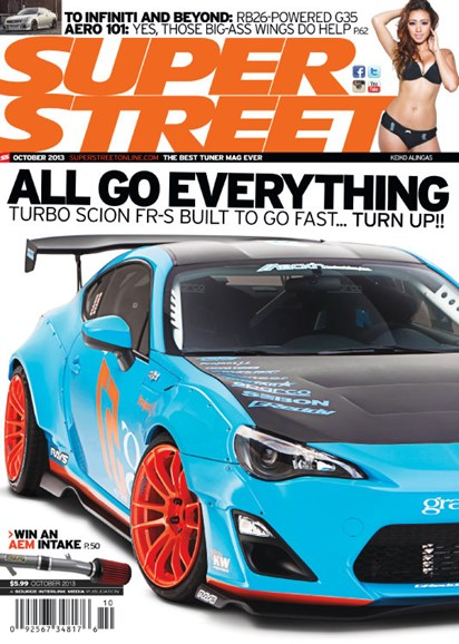Super Street Cover - 10/1/2013
