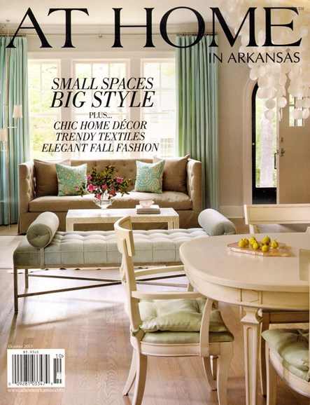 At Home In Arkansas Cover - 10/1/2013