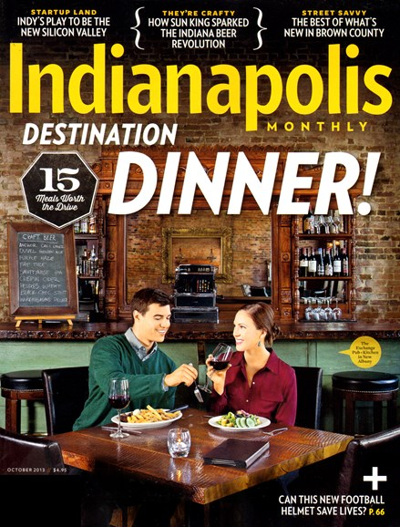 Indianapolis Monthly Cover - 10/1/2013