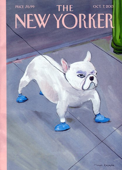 The New Yorker Cover - 10/7/2013