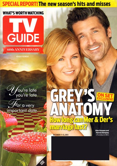 TV Guide Cover - 10/7/2013