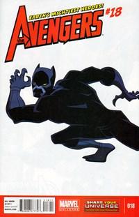 Avengers Earths Mightiest Heroes | 11/1/2013 Cover