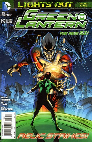 Green Lanterns Cover - 11/1/2013