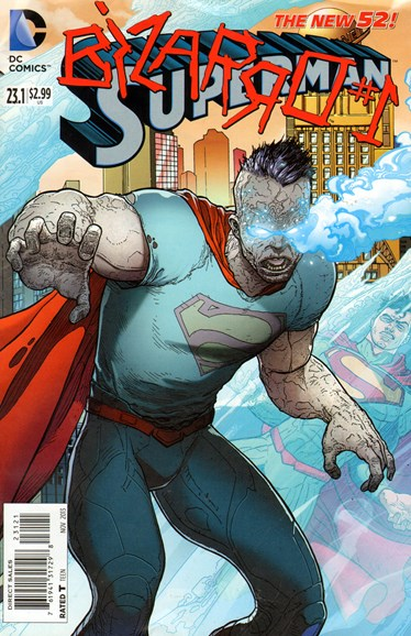 Superman Cover - 11/1/2013