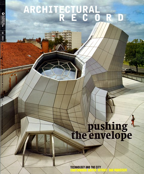 Architectural Record Cover - 10/1/2013