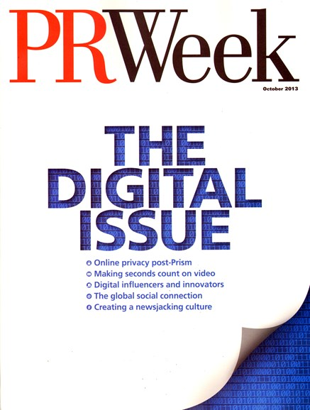 PRWeek Cover - 10/1/2013