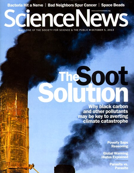 Science News Cover - 11/5/2013