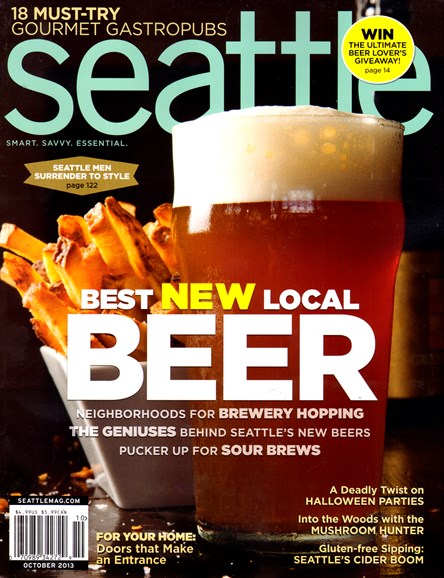 Seattle Magazine Cover - 10/1/2013