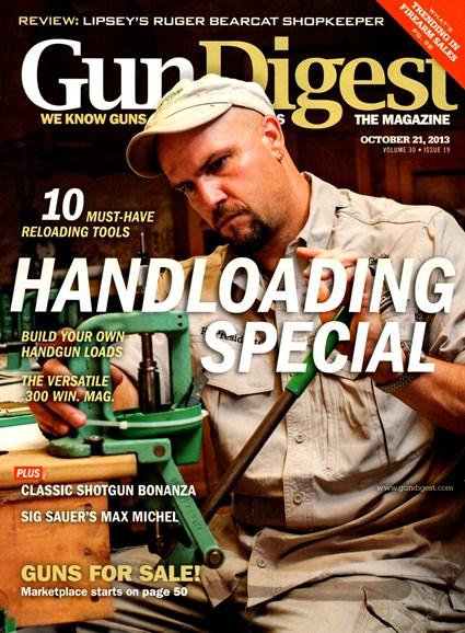 Gun Digest Cover - 10/21/2013