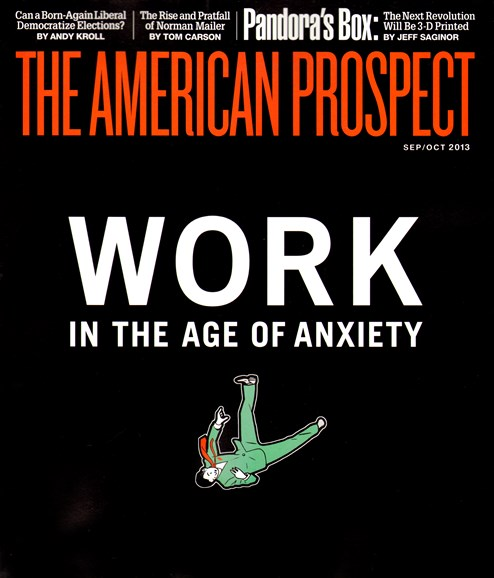 The American Prospect Cover - 9/1/2013