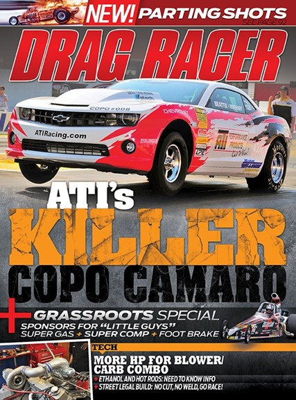 Drag Racer Cover - 11/1/2013
