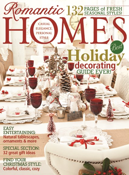Romantic Homes Cover - 11/1/2013