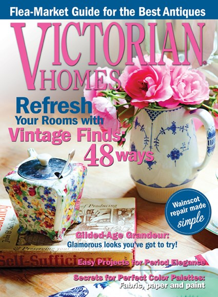 Victorian Homes Cover - 9/1/2013