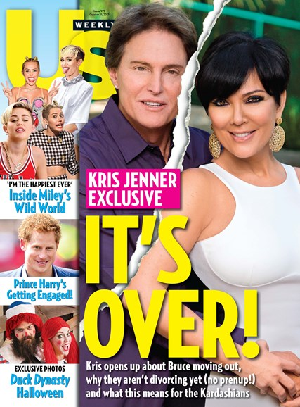 Us Weekly Cover - 10/21/2013