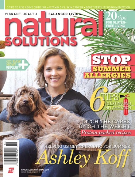 Natural Solutions Cover - 6/1/2013