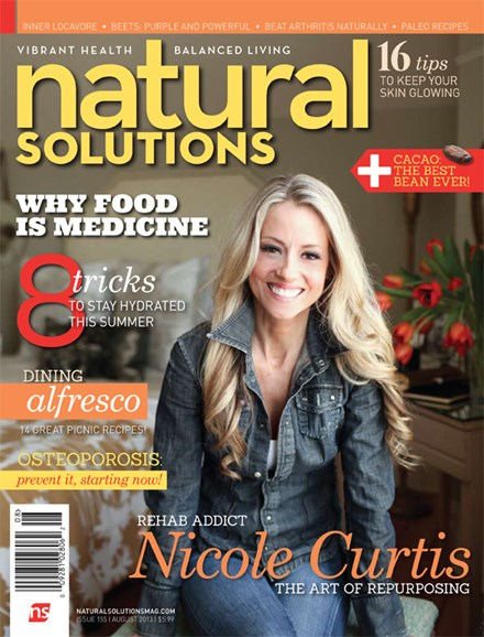 Natural Solutions Cover - 8/1/2013