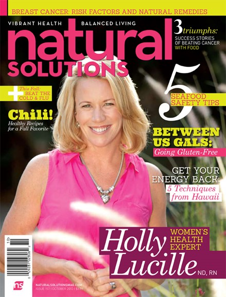 Natural Solutions Cover - 10/1/2013