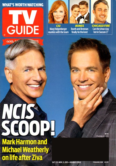 TV Guide Cover - 10/21/2013