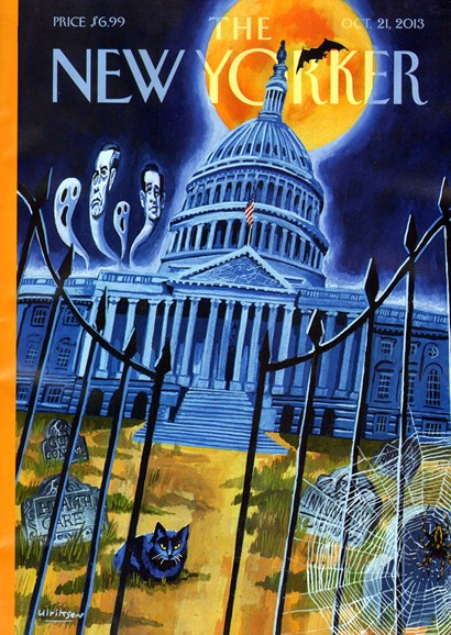 The New Yorker Cover - 10/21/2013