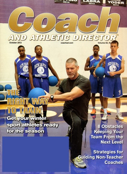 Coach & Athletic Director Cover - 10/1/2013