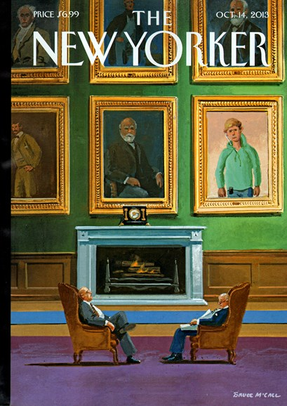 The New Yorker Cover - 10/14/2013