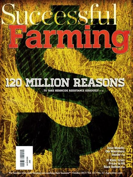 Successful Farming Cover - 10/1/2013