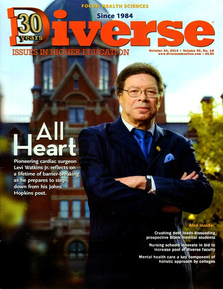 Diverse: Issues In Higher Education Cover - 10/24/2013