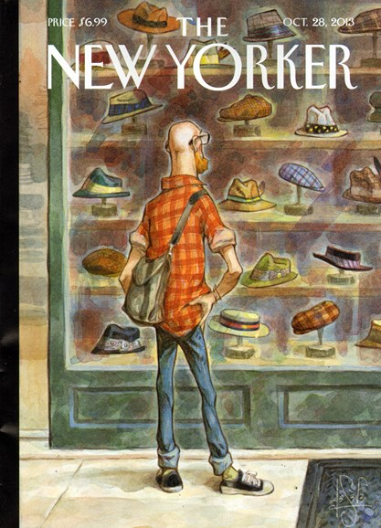 The New Yorker Cover - 10/28/2013