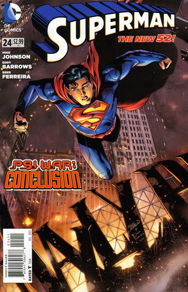 Superman Cover - 12/1/2013
