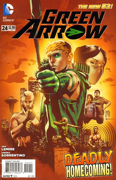 Green Arrow Cover - 12/1/2013