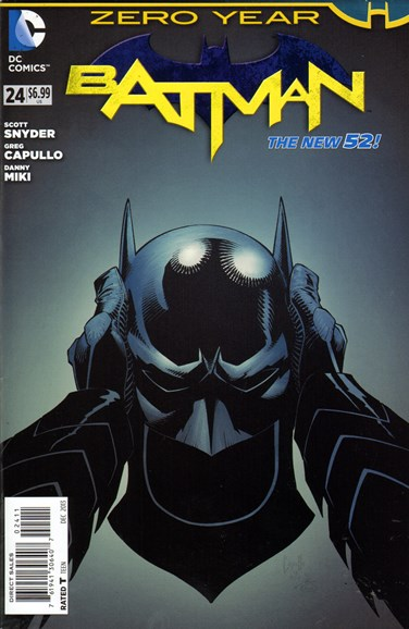 Batman Cover - 12/1/2013