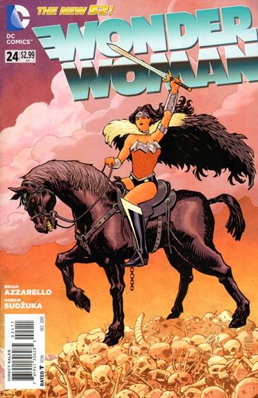 Wonder Woman Cover - 12/1/2013