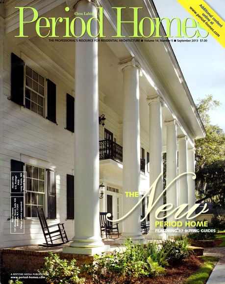 Period Homes Cover - 9/1/2013
