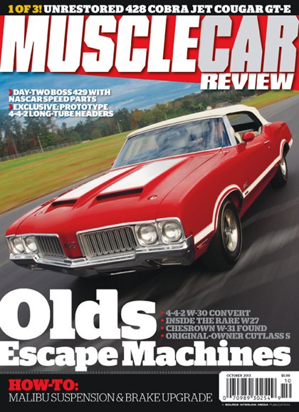 Muscle Car Review Cover - 10/1/2013