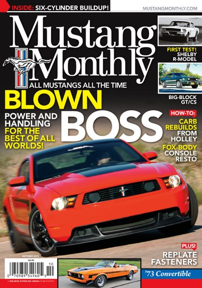 Mustang Monthly Cover - 10/1/2013